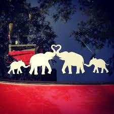 Elephant Family Car Decal Contact Me To Order Yours Or Visit Www Facebook Com Innovativecustom Family Car Decals Family Decals Car Decals