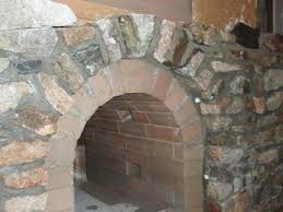 stone fireplace how to build an outdoor