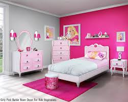 Girly Pink Barbie Room Decor For Kids Inspirations Formation Decoration Interieur 2017