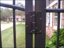 Stainless Steel Aluminum Self Closing Spring Gate Hinge