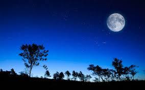 صور خلفيات ليلية جميلة خلفيات القمر ومناظر طبيعية ميكساتك