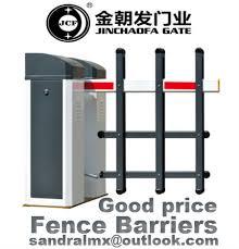 Good Quality Car Park Vehicle Fence Arm Barrier Gate Manufacturer Jinchaofa Parking Industry Co Ltd