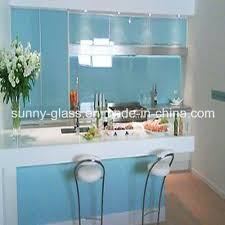china tinted toughened painted glass