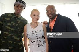 Clifton Bell, recording artist Brielle and Gary 'Silky' Davis attend...  News Photo - Getty Images