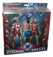 Ultraman Super Reborn Chogokin & Type A & B Vol. 01 Metallic Red ...