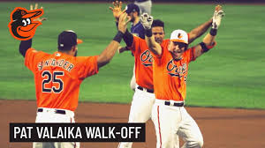 Pat Valaika's Socially-Distanced Walk-off Celebration | Baltimore ...