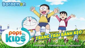 S6] Doraemon Tập 278 - Máy Giao Dịch, Trang Trại Bánh Kẹo - Hoạt ...