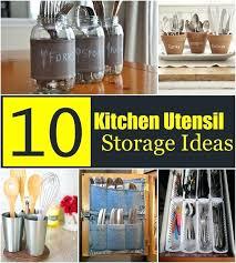 utensil holder ideas cooking kitchen