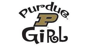 Amazon Com Purdue Boilermakers Girl Clear Vinyl Decal Car Truck Pu Sticker Everything Else