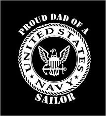 Us Navy Proud Mom Proud Dad Vinyl Decal Car By Customvinyldecals4u Usnavy Usnavydecal Usnavysailor Proudmom Navy Sailor Custom Vinyl Truck Window Stickers