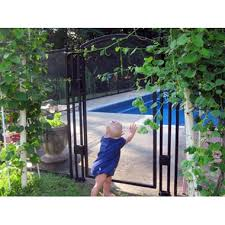 Sentry Safety Visiguard 4 Tall Self Closing Self Latching Pool Fence Gate Black Shop Your Way Online Shopping Earn Points On Tools Appliances Electronics More
