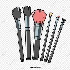 hand painted makeup brush brush effect