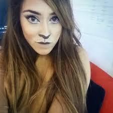 wizard of oz lion face makeup
