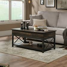 lift top coffee table carbon oak