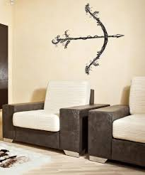 Vinyl Wall Decal Sticker Bow And Arrow And Vines Os Dc539 Stickerbrand