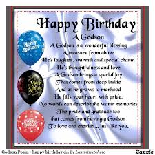 nice poem birthday wishes for godson e card nice wishes