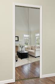 our bifold mirror closet doors are