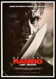 Manifesto Rambo Last Blood Sylvester Stallone Adrian Grunberg Paz ...
