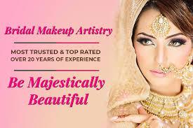 beauty parlour bridal makeup hair salon
