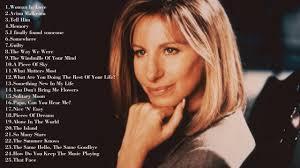 Barbra Streisand Greatest Hits ||| Best Songs Barbra Streisand ...