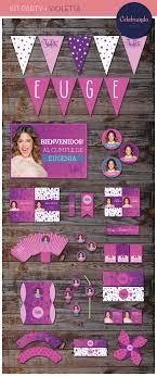 Kit Imprimible Violetta Cosas Para Fiestas Fiesta Y Cumpleanos