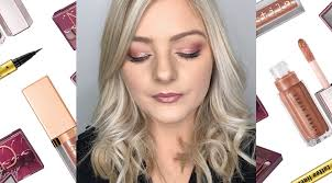 how to do an easy rose gold eye