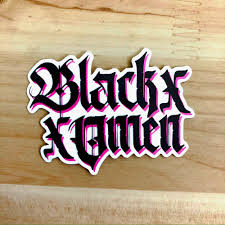 Black Omen Logo Sticker Black Omen Design