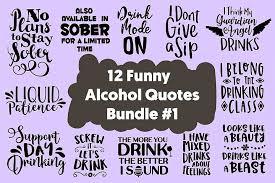 funny drinker quotes cut files bundle svg dxf png pdf jpg