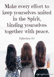 brothers and sisters in christ how to keep peace in the family of