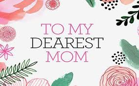 My Dearest Mother