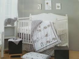 elephant tales 6 piece crib bedding set