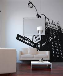 New York City Street Sign West 34th Street And Broadway Wall Decal Osaa559s Stickerbrand