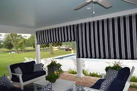canvas porch roller curtains privacy