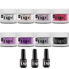 manicure nail color dip