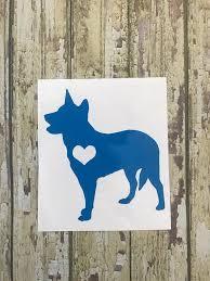 Australian Cattle Dog Blue Heeler Red Heeler Car Decal Blue Heeler Blue Heeler Dogs Australian Cattle Dog Blue Heeler