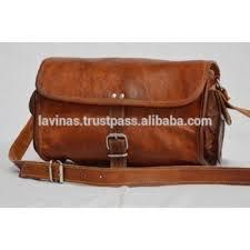 real genuine leather vintage las bag