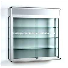 wall mounted glass cabinet wall mounted
