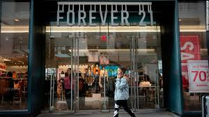 forever 21 files for bankruptcy it