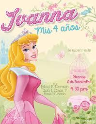 Aurora Jardin Decoracion Fiesta Cumpleanos Invitaciones De