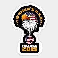 Women S Usa Women S World Cup 2019 T Shirt Women World Cup 2019 Sticker Teepublic
