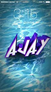 preview of water for name ajay
