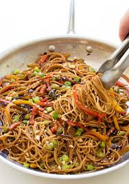 rainbow vegetable stir fry recipe