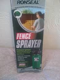 Ronseal Fence Sprayer In York North Yorkshire Gumtree