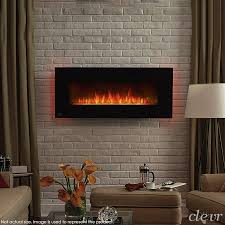 electric wall mount fireplace heater