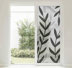Translucent Sheet Of Plants Window Sticker Tenstickers