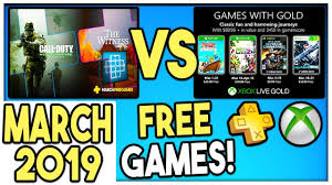 ps vs xbox games with gold free games