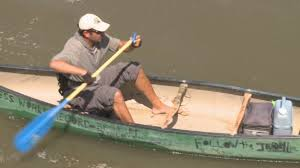 Man on 4,000 mile canoe journey to raise awareness & funds for a ...