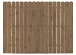 6 X 8 Cedartone Premium Dog Ear Fence Panel At Menards