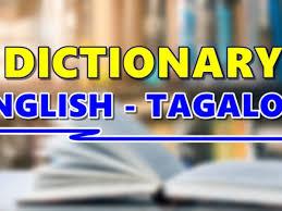 Dictionary English Tagalog - List Of ...