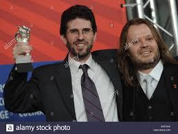 US director Joshua Marston (L) and cinematographer Andamion ...
